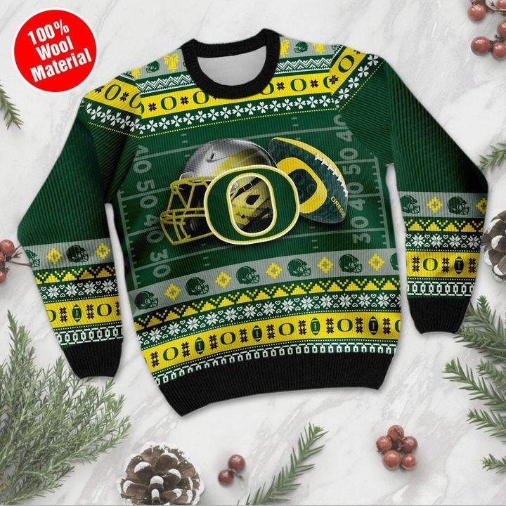 Oregon Ducks Custom Ugly Christmas Sweater 2