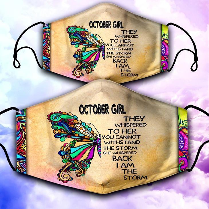 October Girl Face Mask