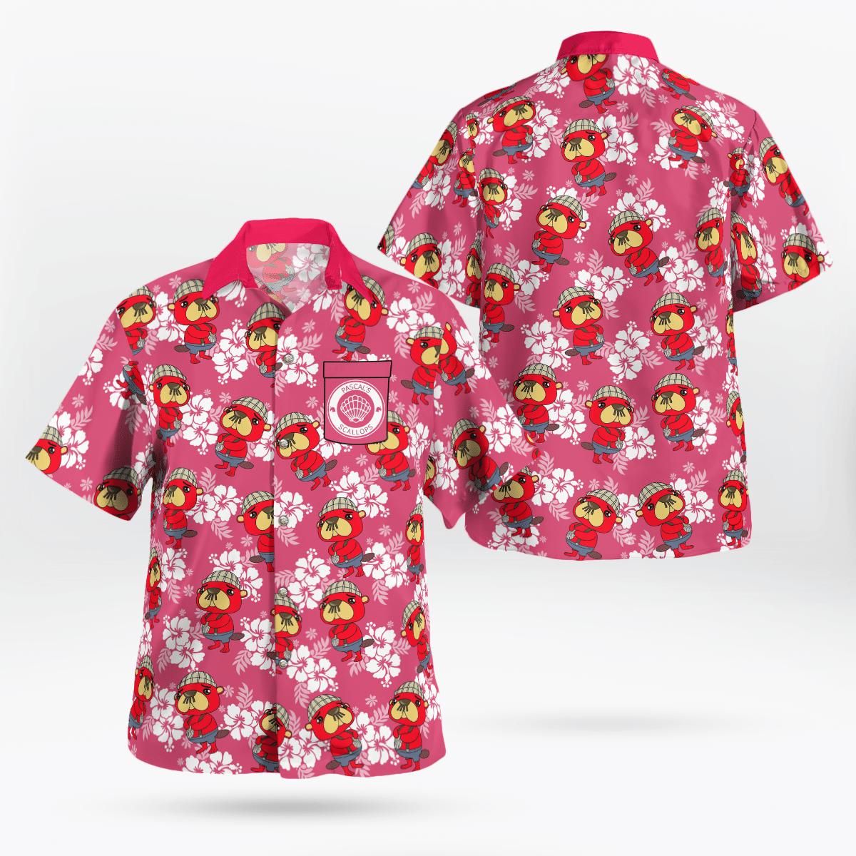 Pascal Scallop Hawaiian shirt