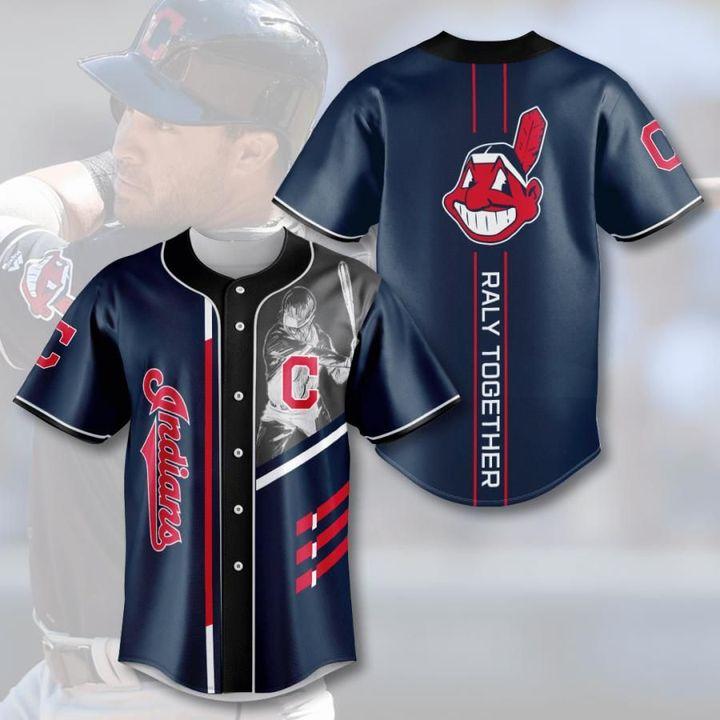 Mlb cleveland indians baseball jersey