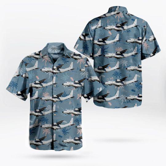 Portuguese Air Force Casa C 295mpa Persuader Hawaiian Shirt 1