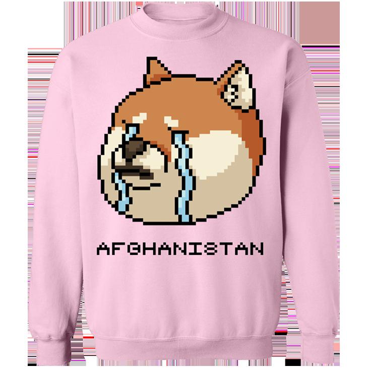 Shiba Inu Afghanistan SweatShirt2