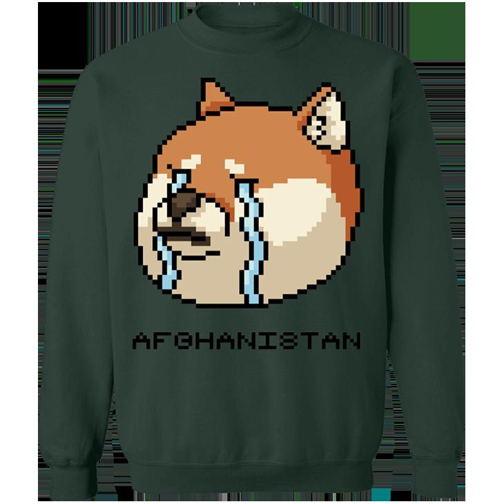 Shiba Inu Afghanistan SweatShirt4