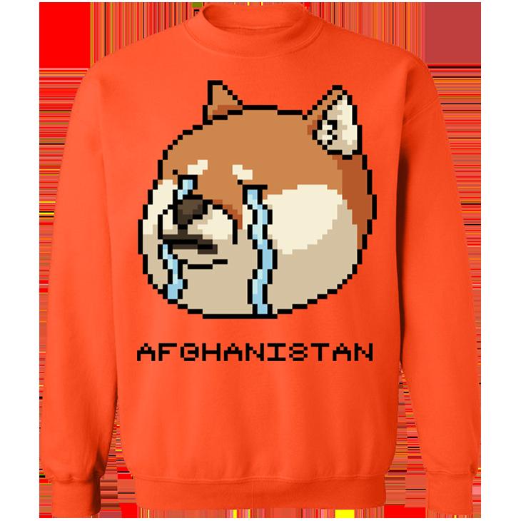 Shiba Inu Afghanistan SweatShirt5