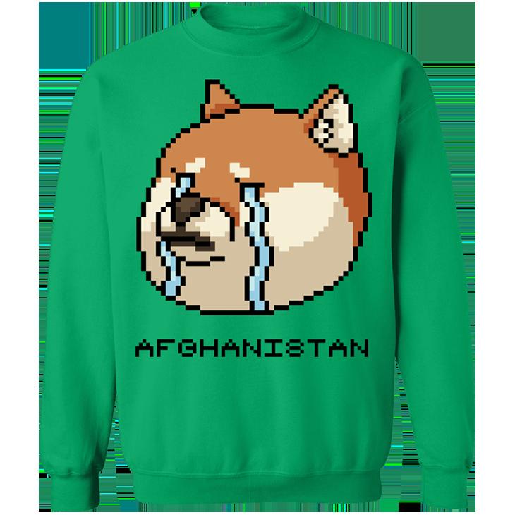 Shiba Inu Afghanistan SweatShirt6