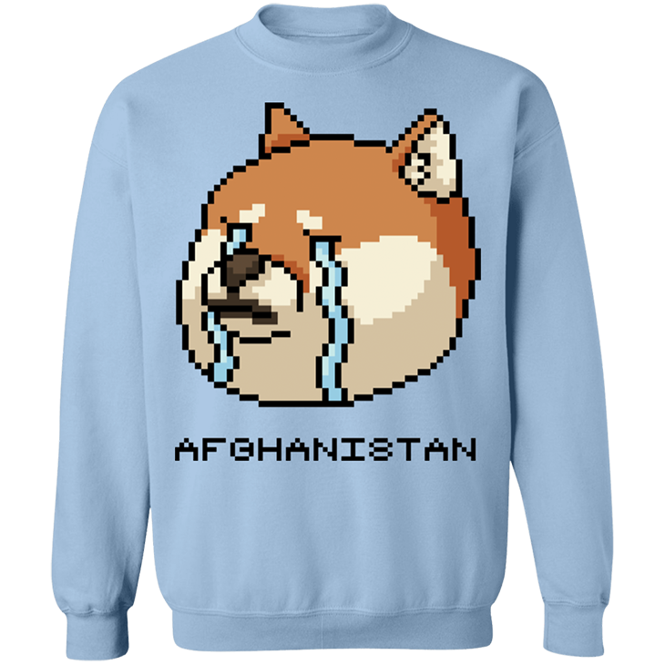 Shiba Inu Afghanistan SweatShirt7