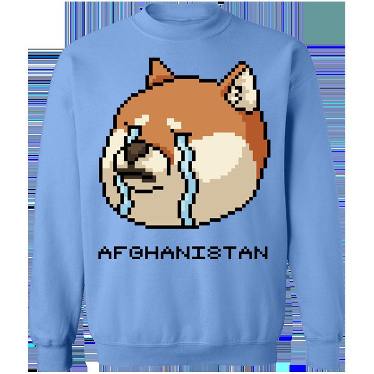Shiba Inu Afghanistan SweatShirt8