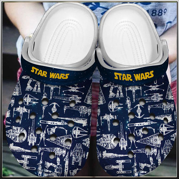 Spaceship Star War Crocs Crocband Clog2