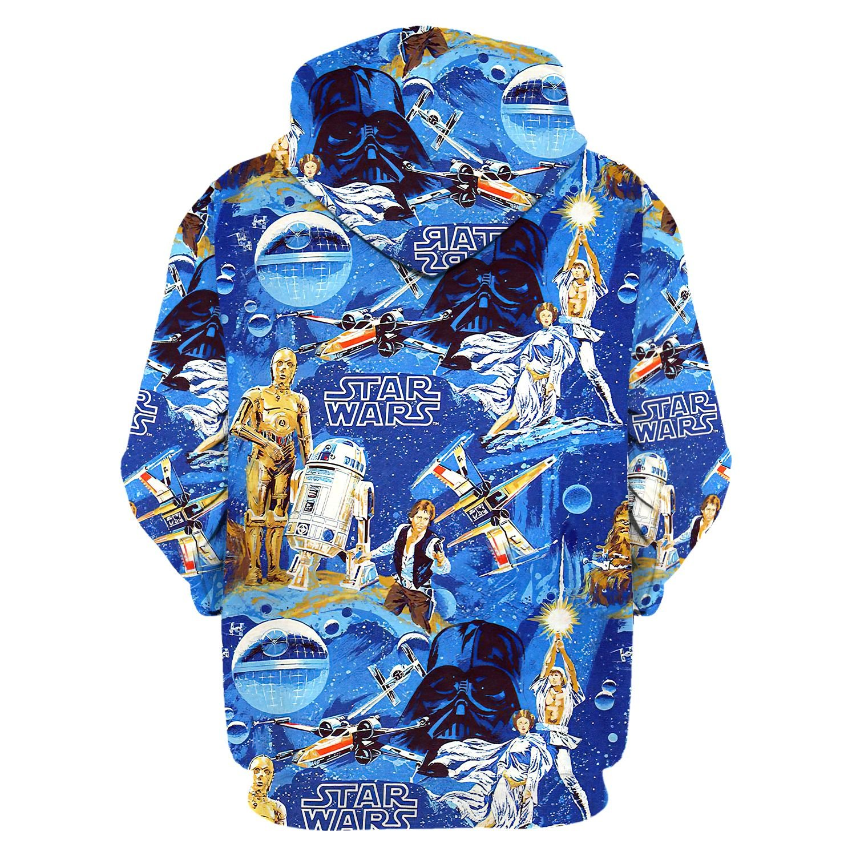 Star Wars 3d over print hoodie and sweatshirt 1