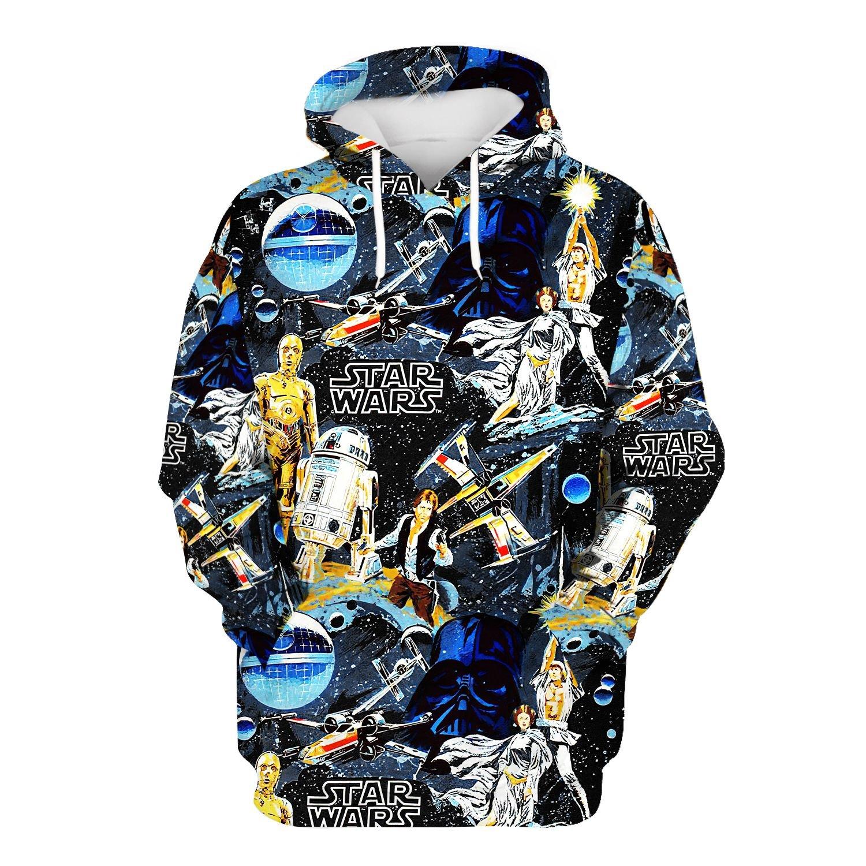 Star Wars 3d over print hoodie and sweatshirt 5
