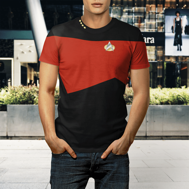 Star trek tng captain shirt1