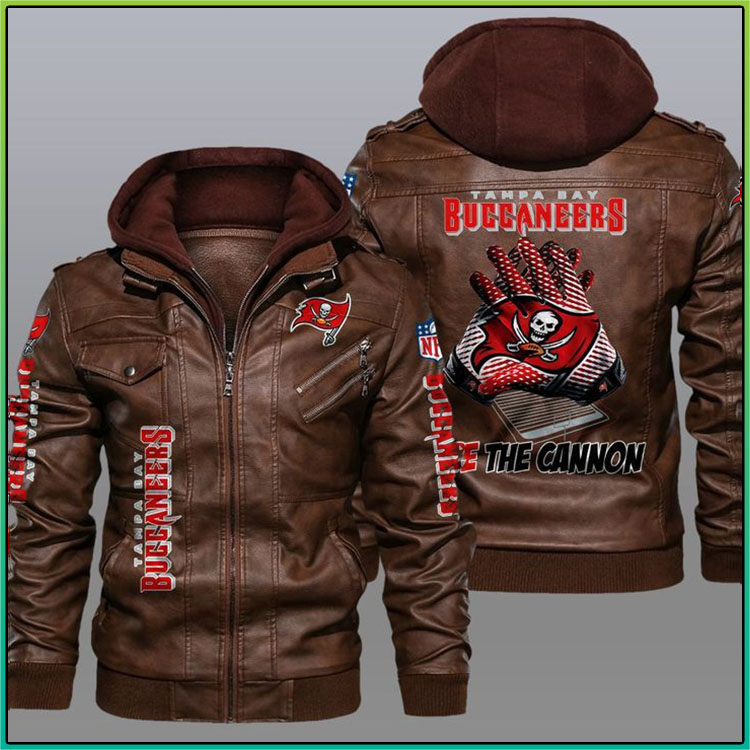 Tampa Bay Buccaneers Fire The Cannon Leather Jacket3