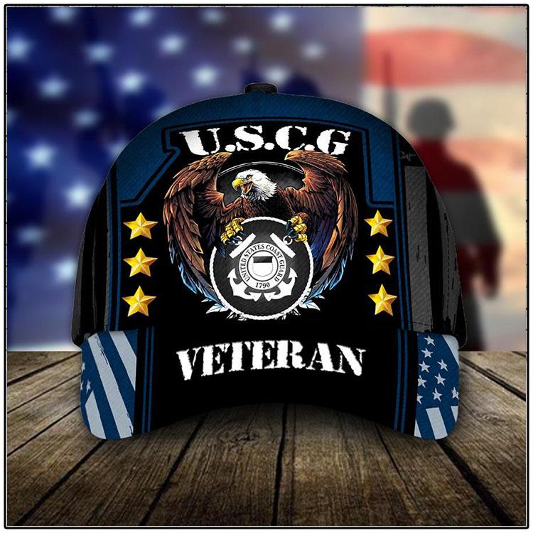 U.S.C.G United States Coast Guard 1790 Veteran Cap1
