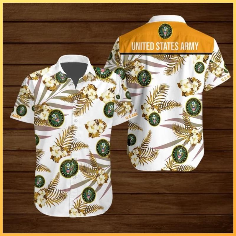 United States Army Hawaiian shirt 1