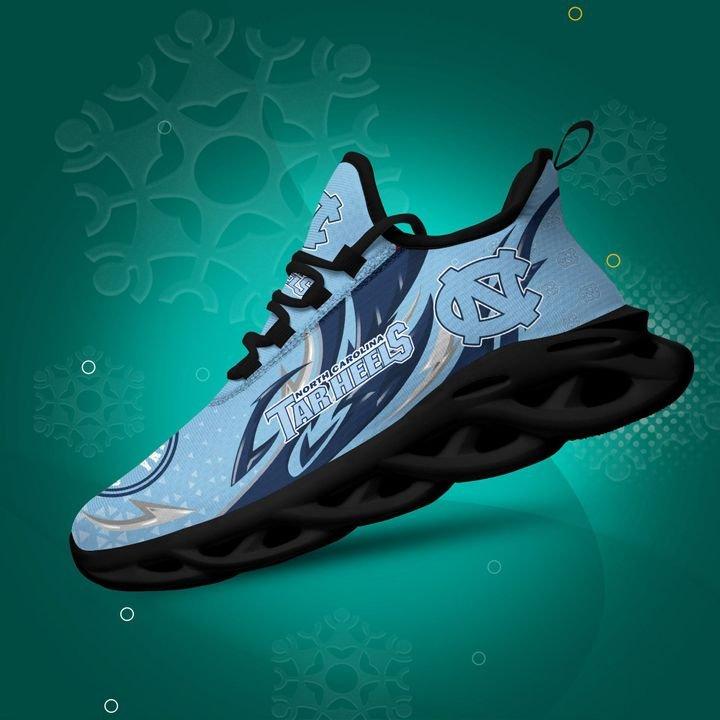 North Carolina Tar Heels clunky Max Soul High Top Shoes 4