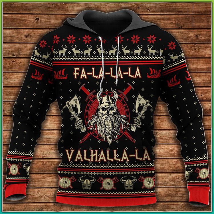 Viking Valhalla La 3D Hoodie1