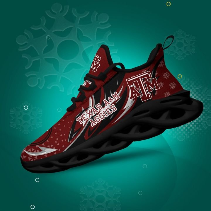 Texas Am Aggies clunky Max Soul High Top Shoes 4