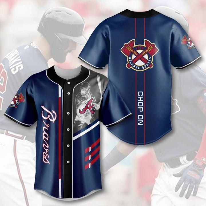 Mlb atlanta braves baseball jersey