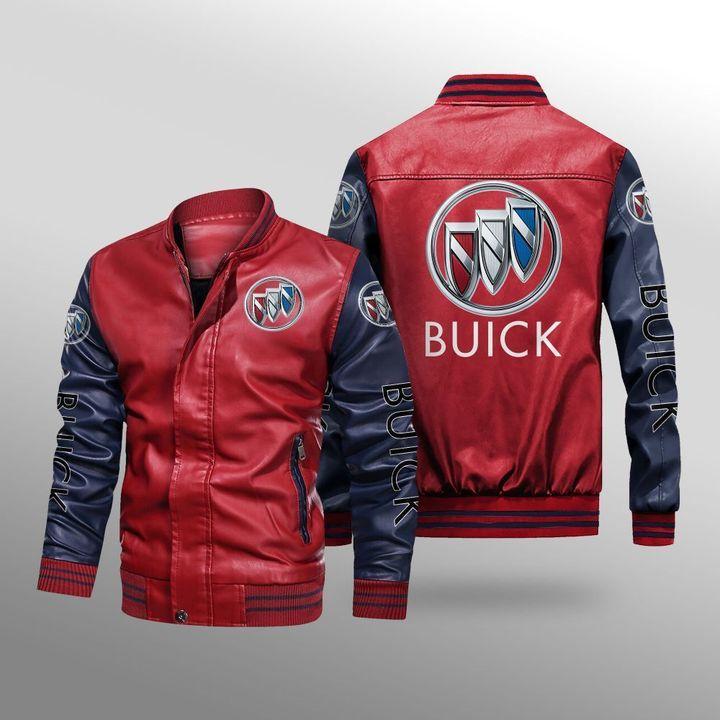 Buick Leather Bomber Jacket 2