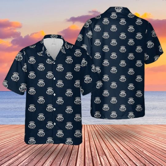 British merchant navy hawaiian shirt 1