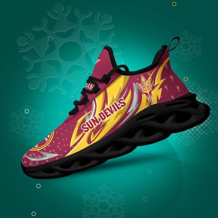 Arizona State Sun Devils clunky Max Soul High Top Shoes 4