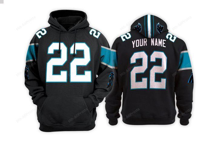 Carolina panthers custom name hoodie