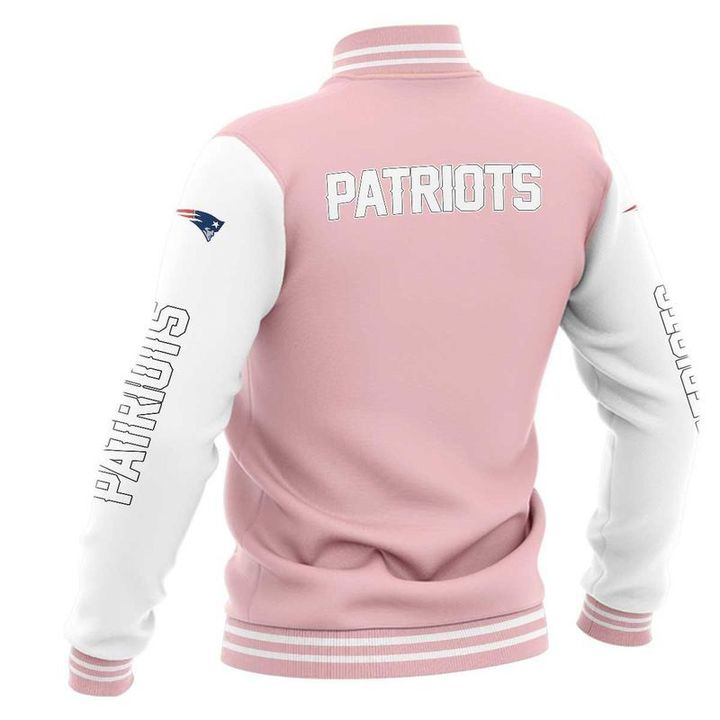 New england patriots baseball jacket 2