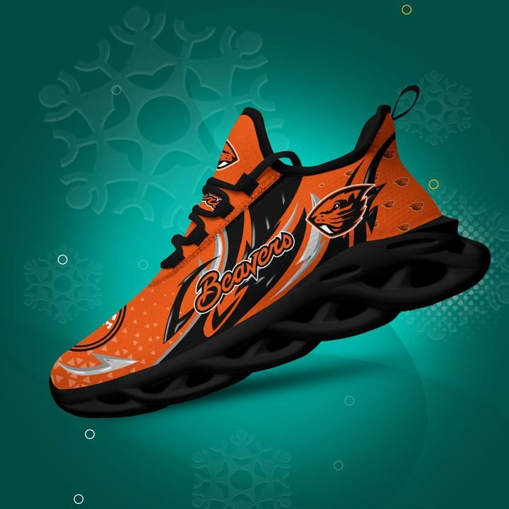 Oregon State Beavers clunky Max Soul High Top Shoes 4