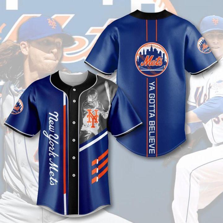 Mlb new york mets baseball jersey