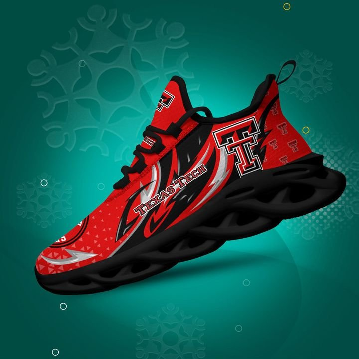Texas Tech Red Raiders clunky Max Soul High Top Shoes 4