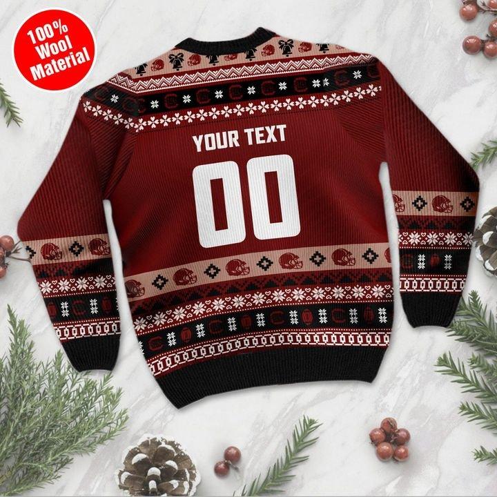 South Carolina Gamecocks Custom Ugly Christmas Sweater 3