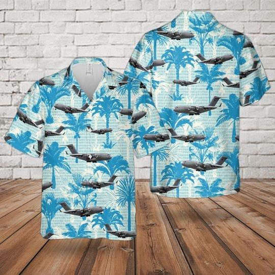 Raaf Boeing C 17 Globemaster Hawaiian Shirt