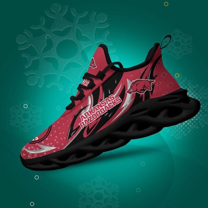 Arkansas Razorbacks clunky Max Soul High Top Shoes 4