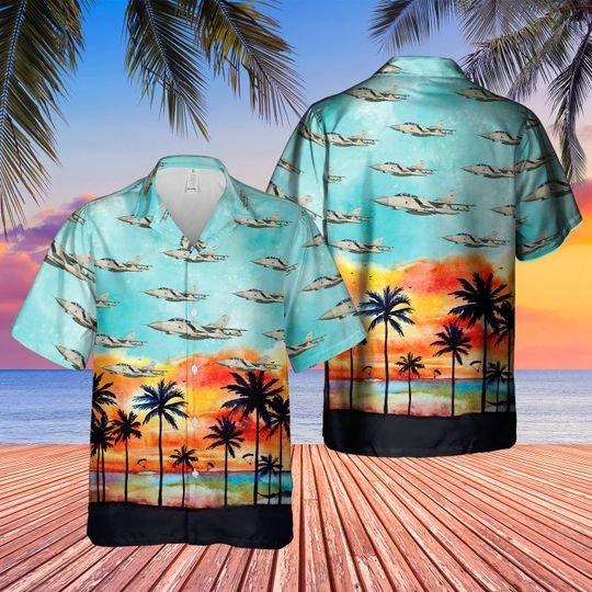Historical tornado gr4 hawaiian shirt