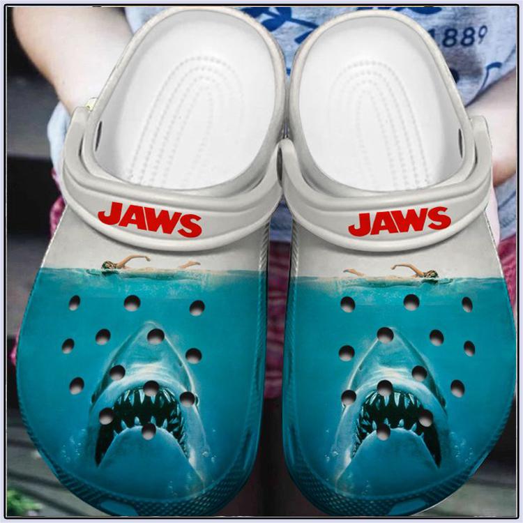 Shark Horror Jaws Crocs Crocband Clog 3