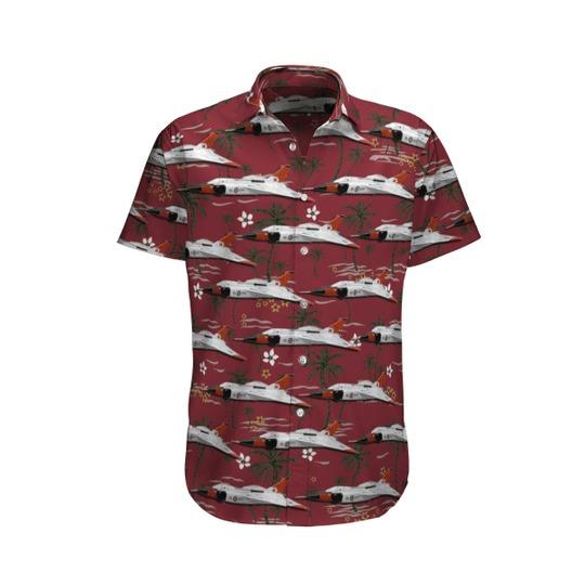 Rcaf avro arrow cf 105 rl 203 hawaiian shirt 1