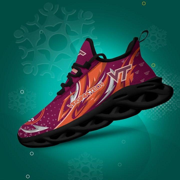 Virginia Tech Hokies clunky Max Soul High Top Shoes 4