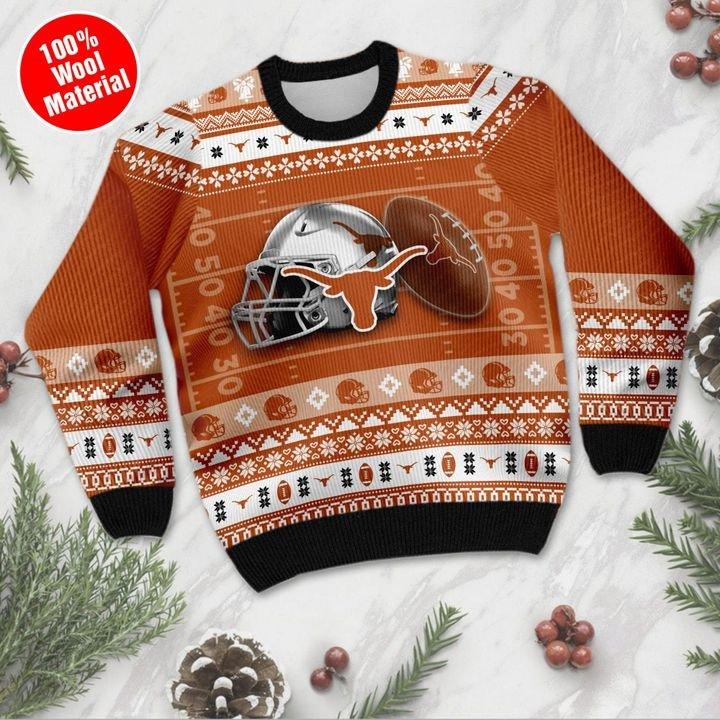 Texas Longhorns Custom Ugly Christmas Sweater 3