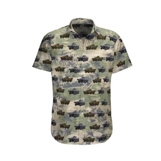 Vbci French Army Hawaiian Shirt 1