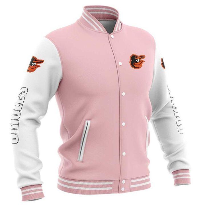 Baltimore orioles baseball jacket 1