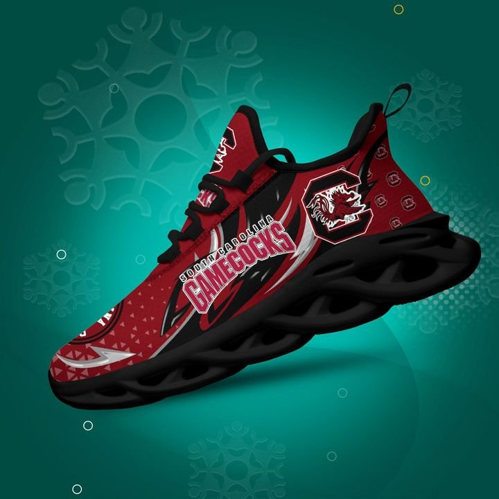 South Carolina Gamecocks clunky Max Soul High Top Shoes 4