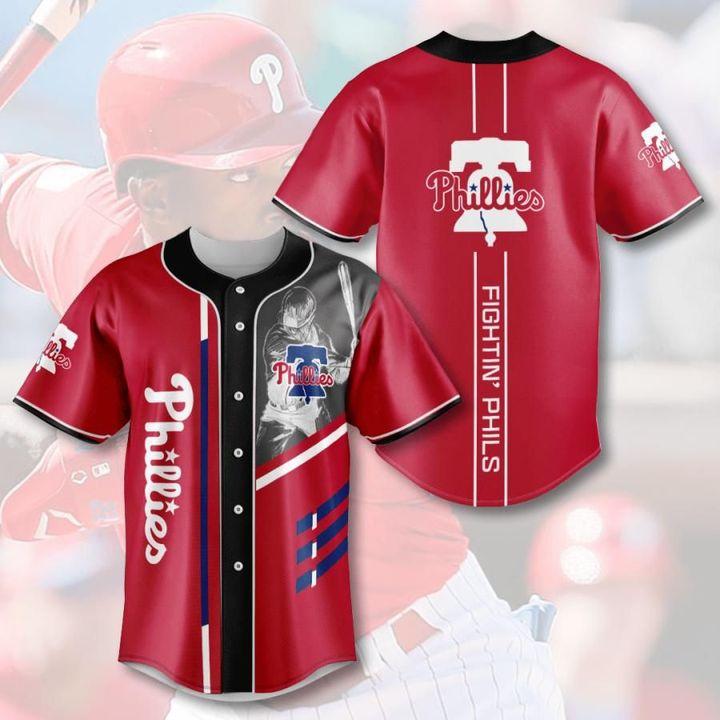 Mlb philadelphia phillies baseball jersey 1