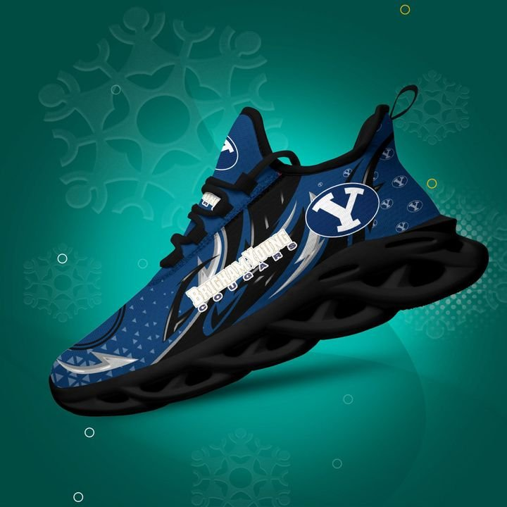 Byu Cougars clunky Max Soul High Top Shoes 4