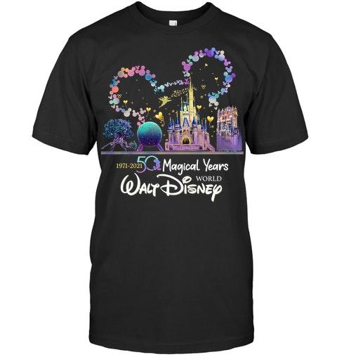 50 magical years world Walt Disney shirt hoodie 1