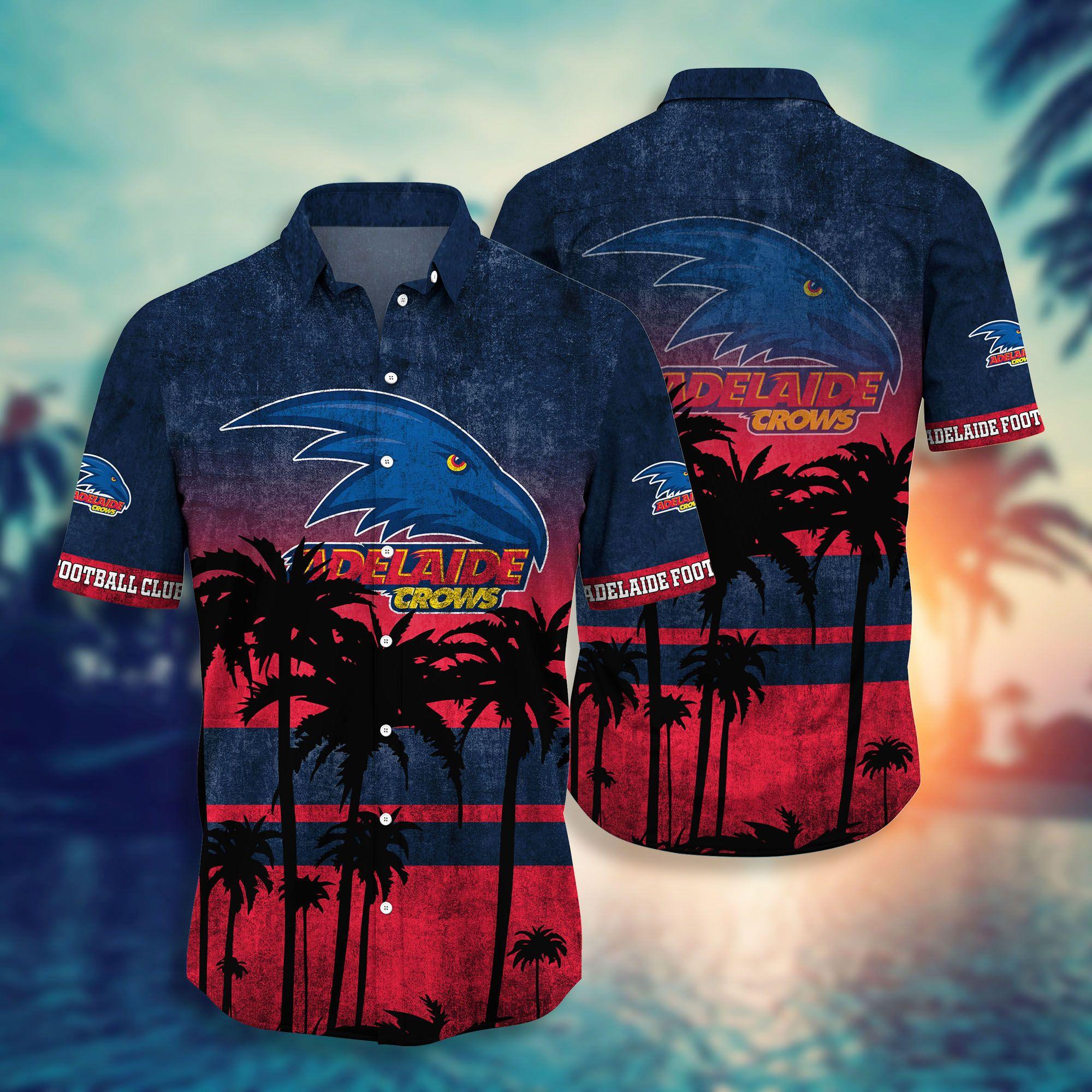 Adelaide Crows AFL Hawaiian shirt short