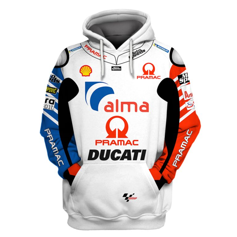 Alma Pramac Ducati Racing 3d shirt hoodie