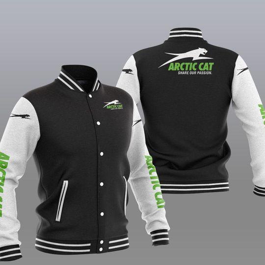 Arctic cat baseball jacket 1