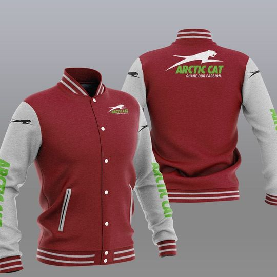 Arctic cat baseball jacket 3