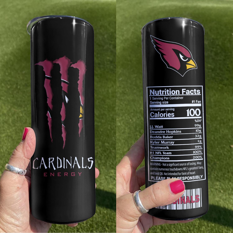 Arizona Cardinals Skinny Tumbler