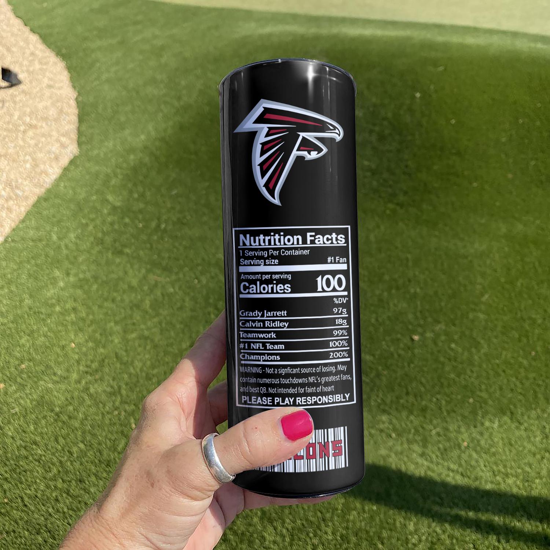 Atlanta Falcons Skinny Tumbler1